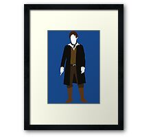 The Eighth Doctor - Doctor Who - Paul McGann (Night of the Doctor) Framed Print