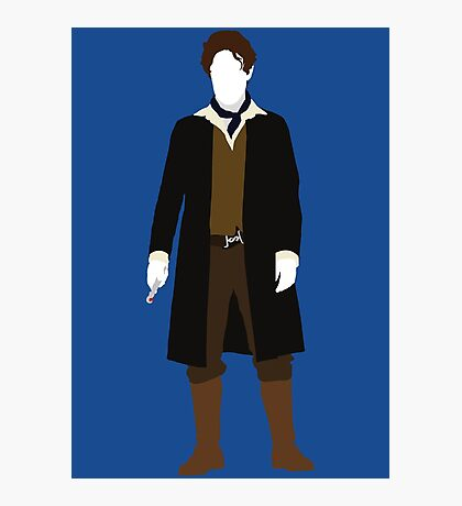 The Eighth Doctor - Doctor Who - Paul McGann (Night of the Doctor) Photographic Print