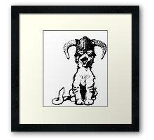 Dragonborn Kitty Framed Print