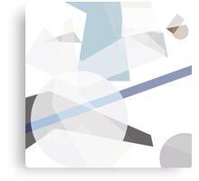 Digital construct, constructivism homage. Canvas Print