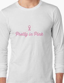 Pretty in Pink - Ribbon Long Sleeve T-Shirt