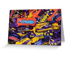 Cadbury Heroes Assorted Chocolates Greeting Card