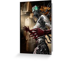 Cyberpunk Photography 055 Greeting Card