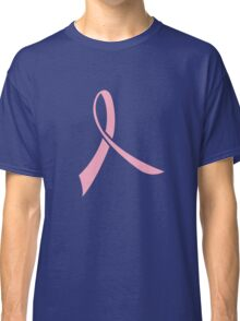 Simple Pink Ribbon Classic T-Shirt