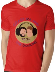 Crazy Ira and The Douche Mens V-Neck T-Shirt