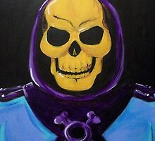 Skeletor Painting by yartenic