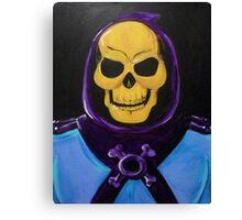 Skeletor Painting Canvas Print