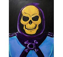 Skeletor Painting Photographic Print