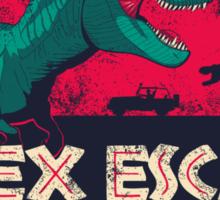 T-Rex Escape Sticker