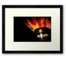Beautiful Heat Framed Print