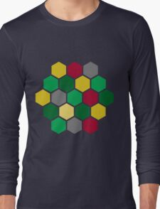 Minimalist Catan Long Sleeve T-Shirt
