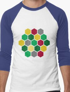 Minimalist Catan Men's Baseball ¾ T-Shirt