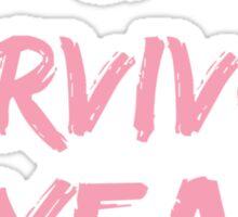 Breast Cancer Survivor 10 Years Sticker