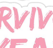Breast Cancer Survivor 5 Years Sticker