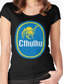 Cthulhu gone Bananas! Women's Fitted Scoop T-Shirt
