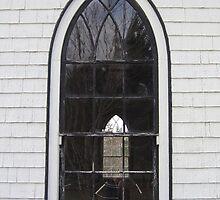Orwell Corner Church Window, Prince Edward Island by John Whitaker