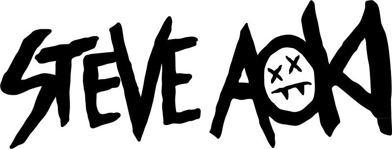 Quot Steve Aoki Logo Quot Stickers By Elvis783 Redbubble