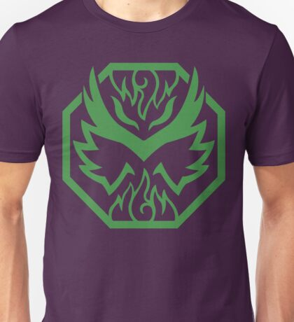 Grape Gunslinger (Green) Unisex T-Shirt