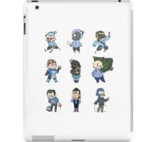 Blu Team!! iPad Case/Skin