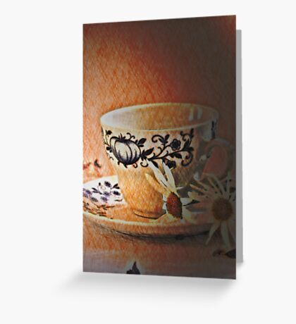 Cup  Greeting Card