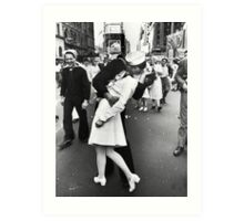 Times Square V/J-Day Kiss Art Print