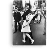 Times Square V/J-Day Kiss Canvas Print