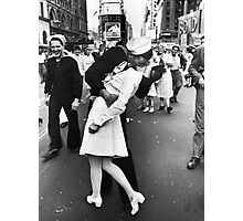 Times Square V/J-Day Kiss Photographic Print