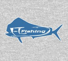 Mahi Mahi FL fishing T-shirt by Fl  Fishing