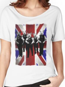 British police spoof Women's Relaxed Fit T-Shirt