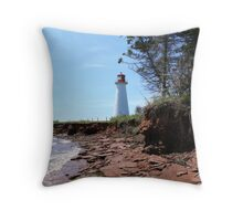 Point Prim Lighthouse 2, Prince Edward Island Throw Pillow