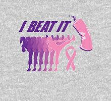 I beat breast cancer.  Womens Fitted T-Shirt