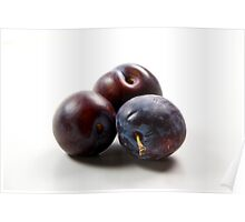 Plums pur Poster