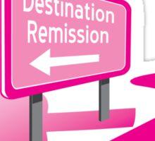 Destination Remission Sticker
