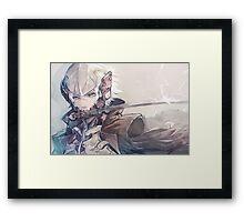 Raiden Poster Framed Print