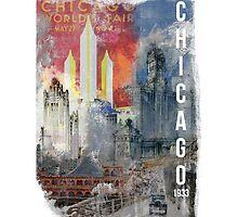 Chicago, 1933 by Oskar Strom