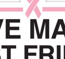 Save Man's Best Friend Sticker
