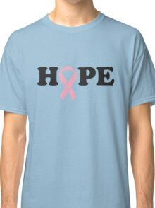 Hope. Breast Cancer Classic T-Shirt