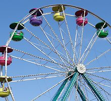 Ferris Wheel at Carnival by Brian Schell