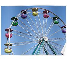 Ferris Wheel at Carnival Poster