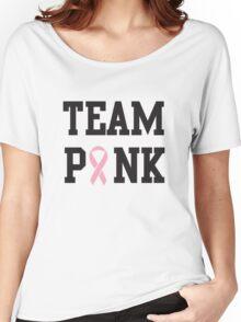Team Pink Women's Relaxed Fit T-Shirt