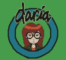 Pixel Daria by vgjunk