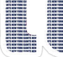 NY text logo Sticker