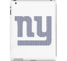 NY text logo iPad Case/Skin