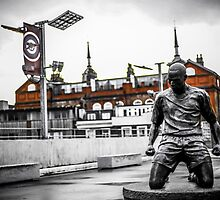 Thierry Henry, Emirates Stadium by Adam Carra