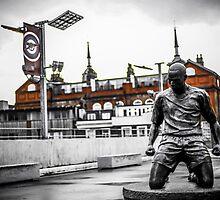 Thierry Henry, Emirates Stadium by Adam Carra