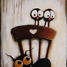 My chair with crows by StressieCat