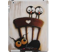 My chair with crows iPad Case/Skin