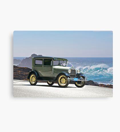 1927 Ford Model A Tudor Sedan Canvas Print