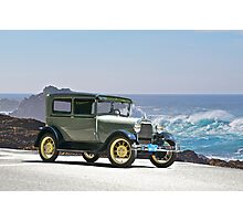 1927 Ford Model A Tudor Sedan Photographic Print