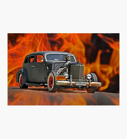 1938 Cadillac 'Lucifer's Limo' Photographic Print